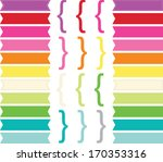 banner flags | Shutterstock .eps vector #170353316