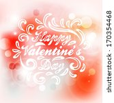 valentine's day card.  wedding... | Shutterstock .eps vector #170354468