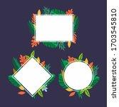 classic peonies template.... | Shutterstock .eps vector #1703545810