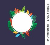 classic peonies template.... | Shutterstock .eps vector #1703545816