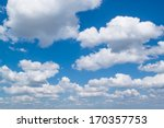 White Fluffy Clouds In The Blue ...