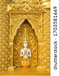 Golden Thai Sculpture Pattern...