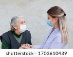 Portrait Of Friendly Caregiver...