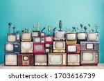 Retro tv receivers set from...
