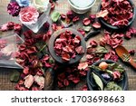 Rose Potpourri And Aroma Oil