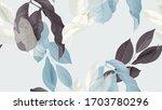 foliage seamless pattern ... | Shutterstock .eps vector #1703780296