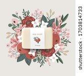 3d realistic bar soap... | Shutterstock .eps vector #1703814733