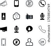 phone vector icon set such as ... | Shutterstock .eps vector #1703814769