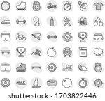 editable thin line isolated... | Shutterstock .eps vector #1703822446