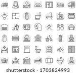 editable thin line isolated...   Shutterstock .eps vector #1703824993
