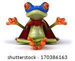 Frog Doing Yoga