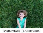 Portrait Of Smiling Cute Little ...