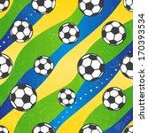 Seamless Football Pattern...