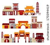 chinatown | Shutterstock .eps vector #170394419