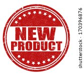 new product grunge rubber stamp ... | Shutterstock .eps vector #170396876