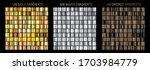 gold  silver  bronze gradients. ... | Shutterstock .eps vector #1703984779