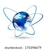 globalization concept | Shutterstock .eps vector #170398679