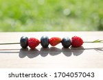 Delicious Wild Strawberries And ...