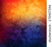 Abstract Vibrant Mosaic...