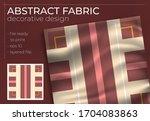hijab creative scarf fashion... | Shutterstock .eps vector #1704083863