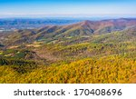 autumn color in the appalachian ... | Shutterstock . vector #170408696