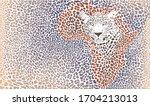 Vector Illustration Leopard Fu...