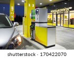 car in gas station. fuel ... | Shutterstock . vector #170422070