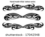 tribal tattoo | Shutterstock .eps vector #17042548