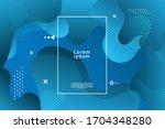 abstract fluid design...   Shutterstock .eps vector #1704348280
