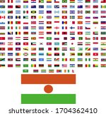 flags of the world. world flag... | Shutterstock .eps vector #1704362410