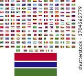 flags of the world. world flag... | Shutterstock .eps vector #1704362779