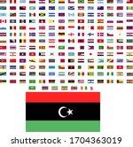 flags of the world. world flag... | Shutterstock .eps vector #1704363019