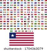flags of the world. world flag... | Shutterstock .eps vector #1704363079