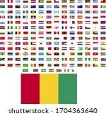 flags of the world. world flag... | Shutterstock .eps vector #1704363640