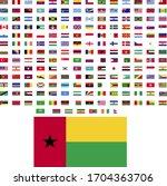 flags of the world. world flag... | Shutterstock .eps vector #1704363706