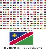 flags of the world. world flag... | Shutterstock .eps vector #1704363943