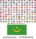 flags of the world. world flag... | Shutterstock .eps vector #1704364156