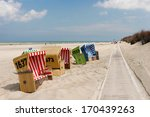 Beach Chairs On Langeoog...