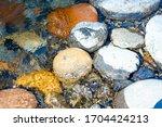 Texture Of Large Cobblestones...