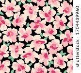 seamless pattern material of... | Shutterstock .eps vector #1704439960