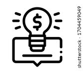 smart money solution icon...   Shutterstock .eps vector #1704459049
