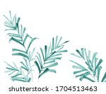 greeting card with flowers ... | Shutterstock . vector #1704513463