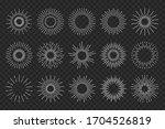 sunburst sun ray. vector burst...   Shutterstock .eps vector #1704526819