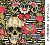 seamless pattern  background... | Shutterstock .eps vector #1704541789