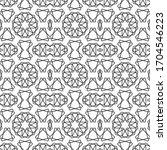 minimal islamic ornament...   Shutterstock .eps vector #1704546223