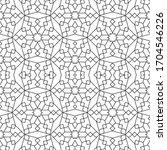 minimal islamic ornament...   Shutterstock .eps vector #1704546226
