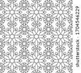 minimal islamic ornament...   Shutterstock .eps vector #1704546229