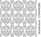 minimal islamic ornament... | Shutterstock .eps vector #1704546280