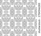 minimal islamic ornament... | Shutterstock .eps vector #1704546283