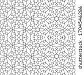 minimal islamic ornament... | Shutterstock .eps vector #1704546286